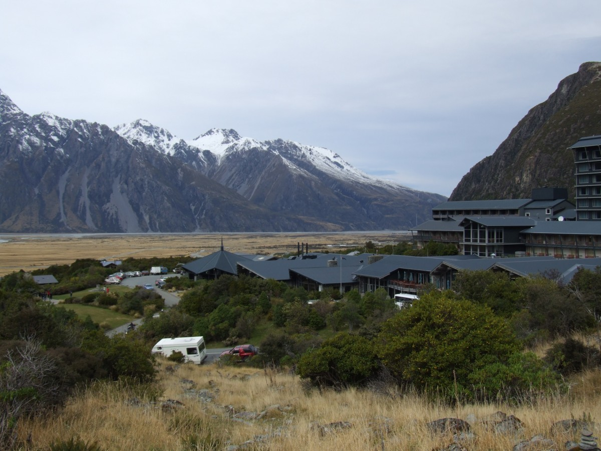 The Hermitage, Mt. Cook